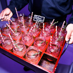Colored straws and mason jars