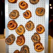 food design with pretzels at WeWork NYC event space