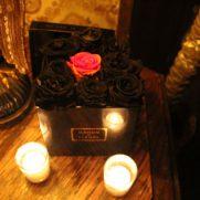 Maison des Fleurs black roses for Halloween decor
