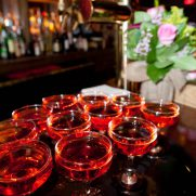 Signature cocktail drinks @ McKittrick bar NYC