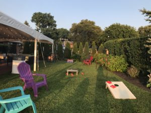 lawn games cornhole toss