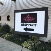 The Week Of Wrap Party