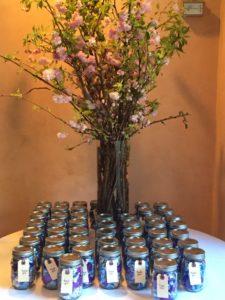 Cherry Blossoms Mason Jars