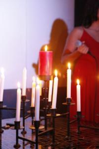 quinceañera candle lighting