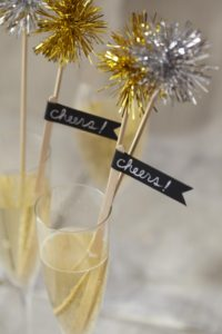 Drink Stirrers Holiday Party
