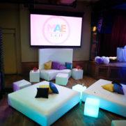 city winery bat mitzvah led lounge furniture