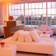 Lounge furniture at Studio 450 NYC event venue