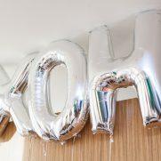 mylar letter balloons party decor